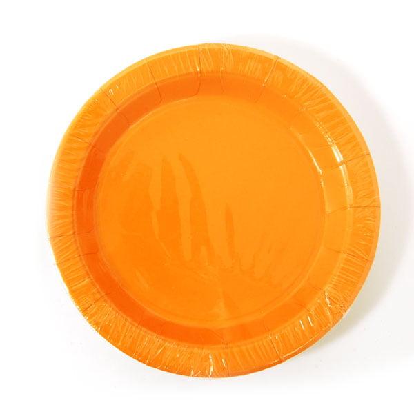 9 Inch Orange Plate/Case of 288