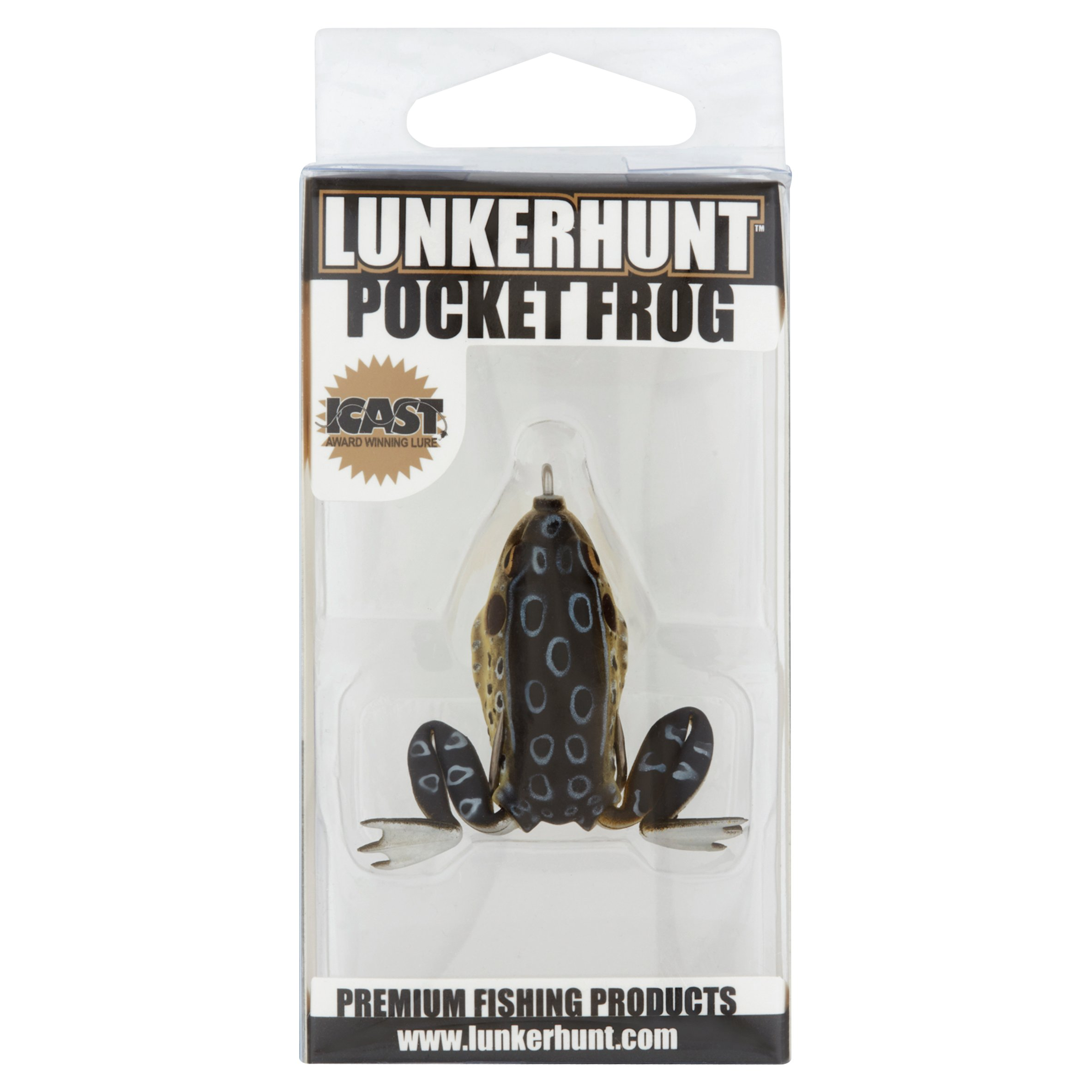 Lunkerhunt Croaker Pocket Frog