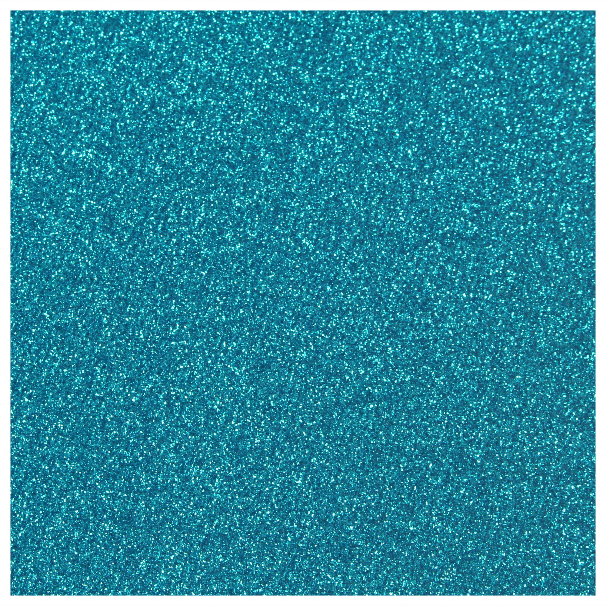 Siser Glitter Heat Transfer Material - Aqua