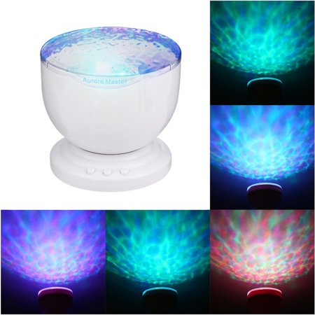 - Ocean Wave Light Rotating Star Projection Lamp Recreational Hotel Living room Luminous Starry Sky Lamp light