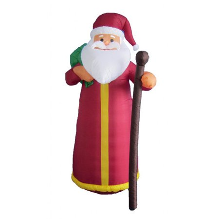 Bzb goods 6 ft santa claus decoration for 4 ft santa claus decoration