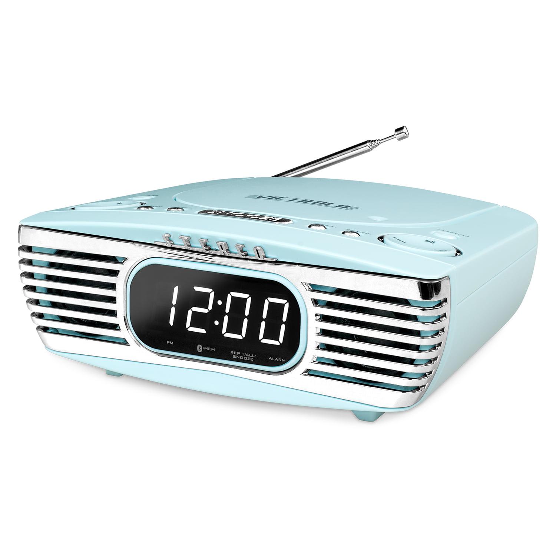 Best Cd Alarm Clocks - Victrola Bedside Digital LED Alarm Clock Stereo Review