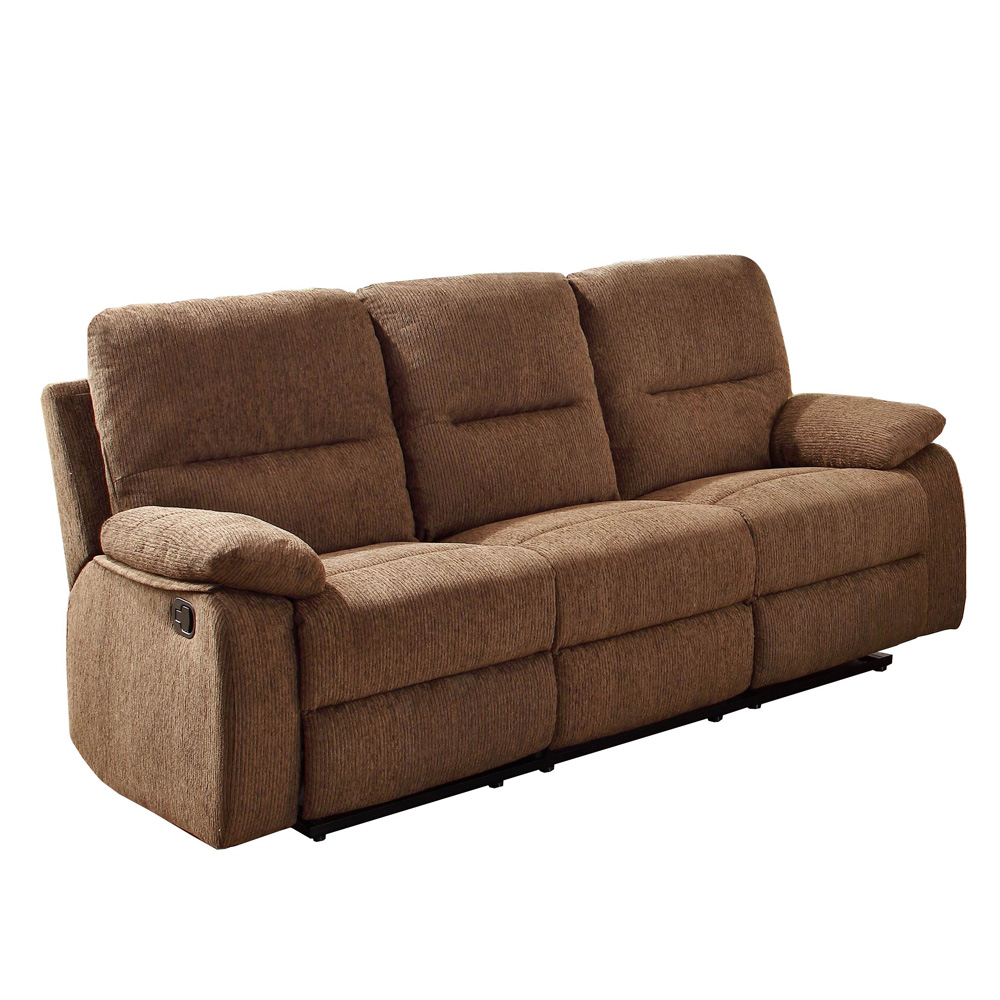 Homelegance Marianna Double Reclining Sofa w/ Center Drop-Down Cup Holders