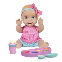 Deals on Mealtime Magic Mia Interactive Feeding Baby Doll