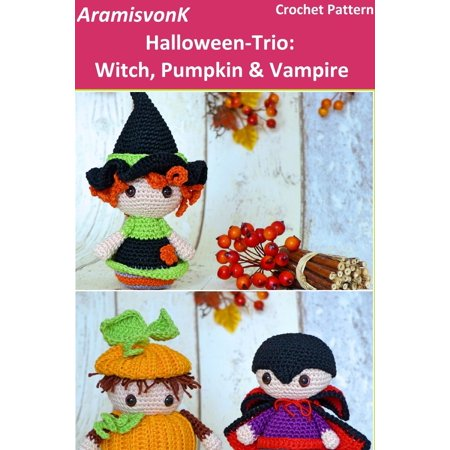 Halloween-Trio: Witch, Pumpkin & Vampire - eBook - Halloween Trios