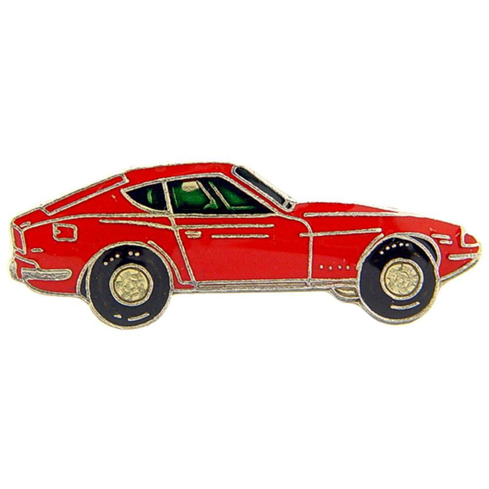 1970 Datsun Car Pin Red 1