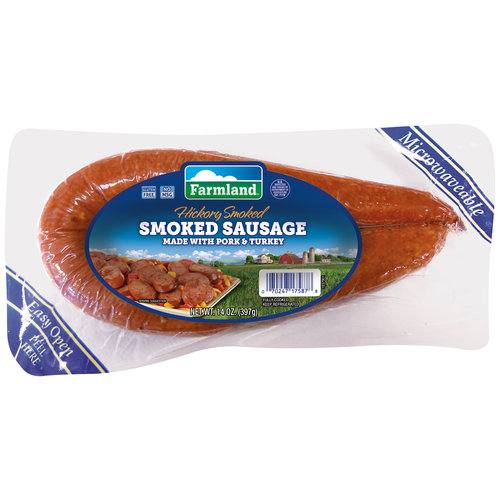 Farmland Hickory Smoked Sausage, 14 oz