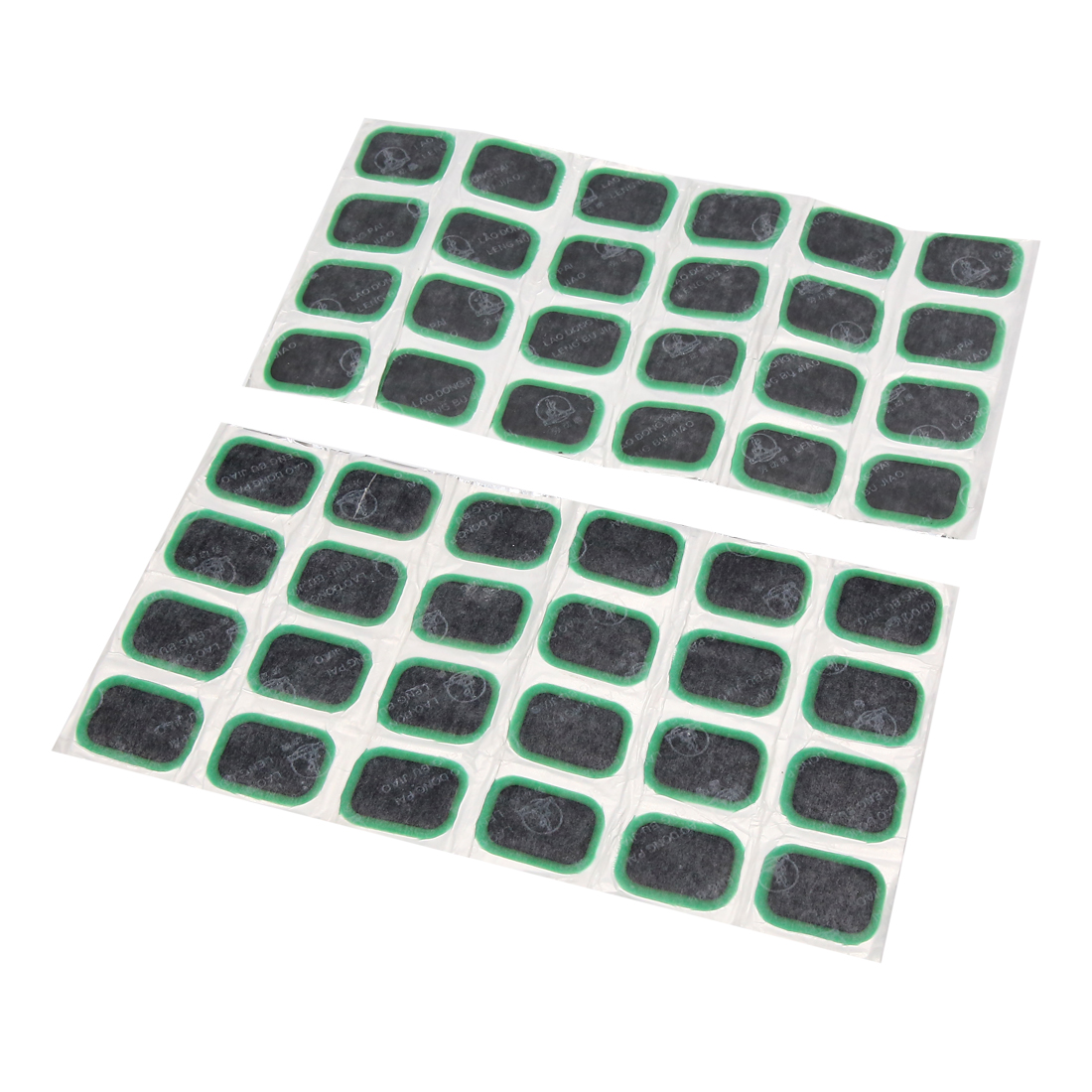 48pcs Green Motorcycle Car Tyre Puncture Patches Tire Repair Tool 35 x 24mm
