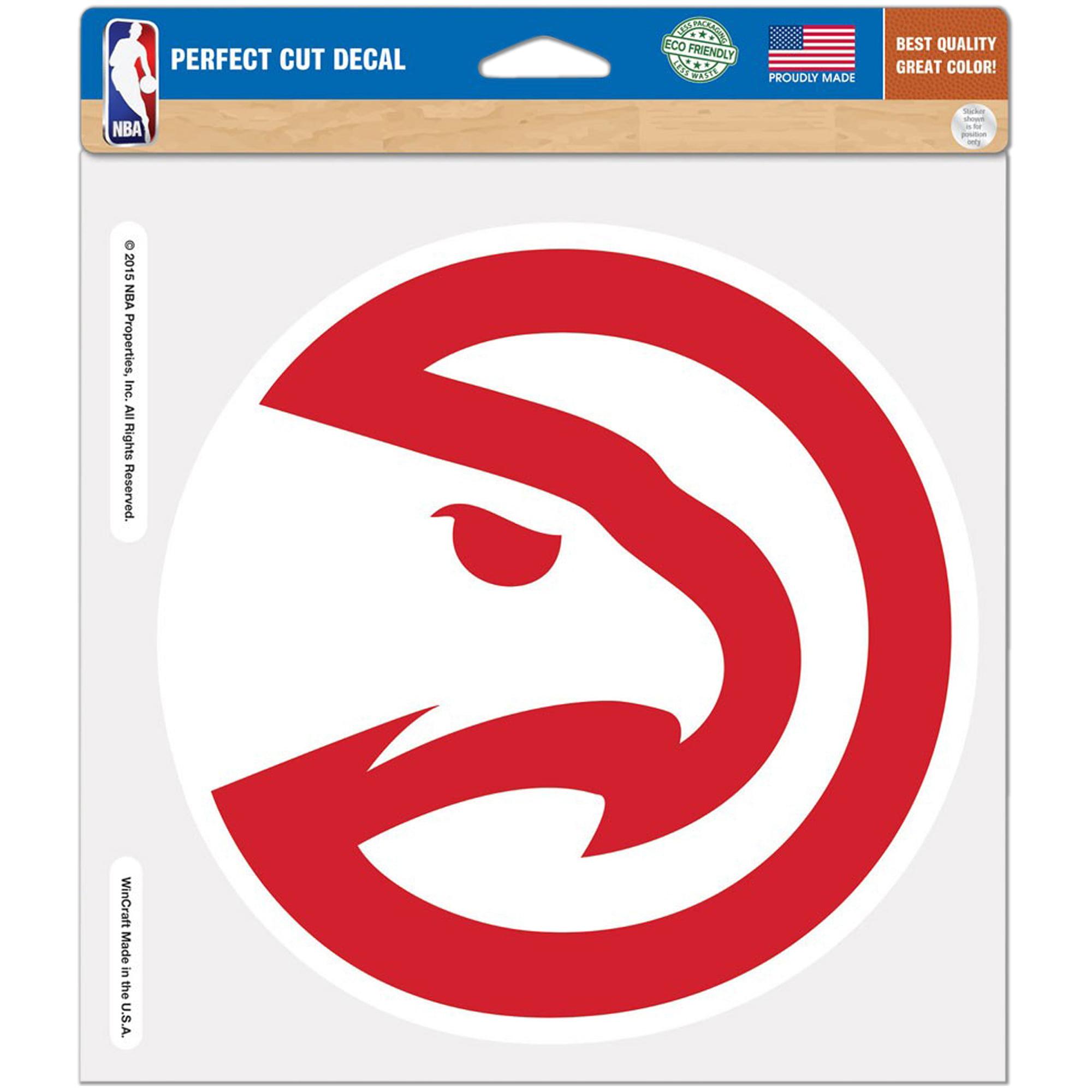 """Atlanta Hawks WinCraft 8"""" x 8"""" Logo Color Decal - No Size"""