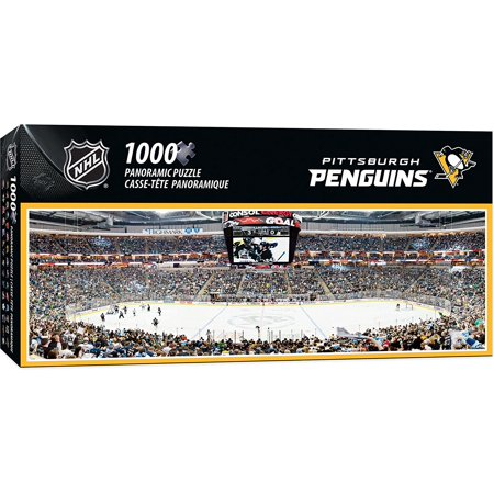 NHL Pittsburgh Penguins 1000 Piece Stadium Panoramic Jigsaw Puzzle, Dr. Toy Award of Excellence - 100 Best Toys By