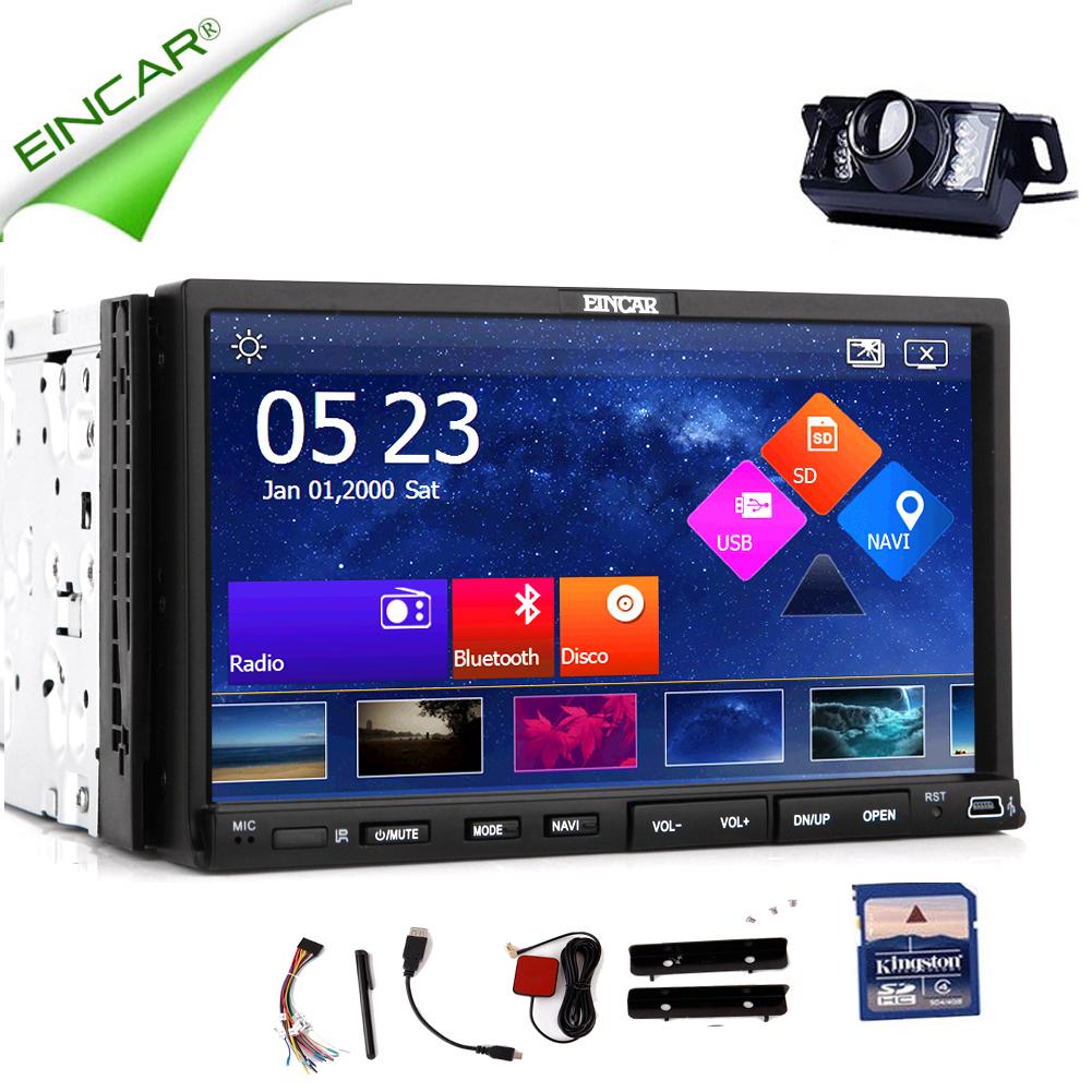 EinCar GPS Navigation Capacitive Audio PC System USB 2 Di...