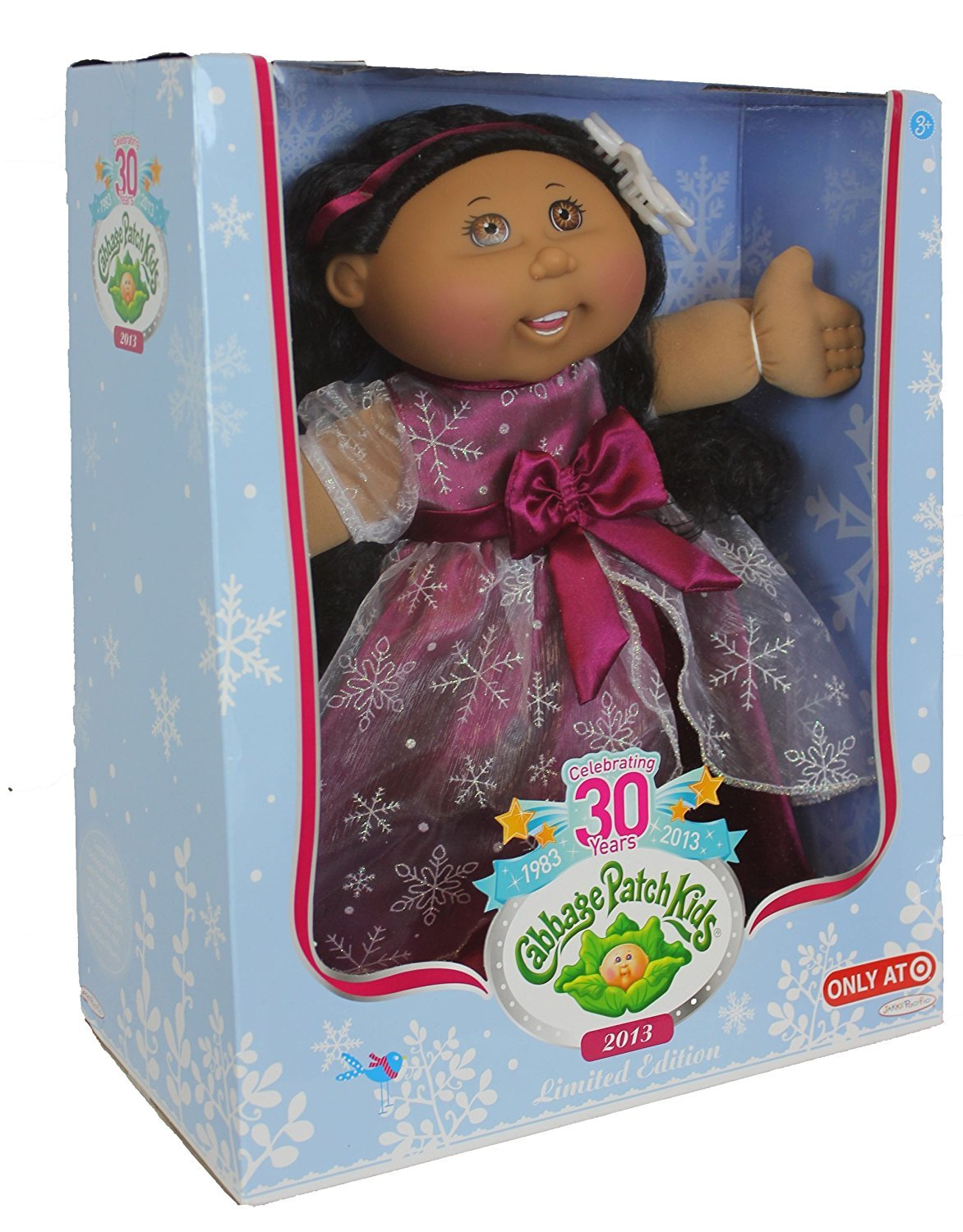 Cabbage Patch Kids 2013 Holiday Edition Hispanic Doll With Brown Eyes by