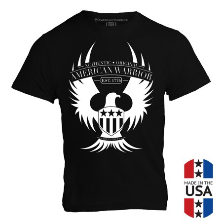 - Eagle - Est 1776 T-Shirt Supporting Patriots, Military, Veterans, Made in the USA