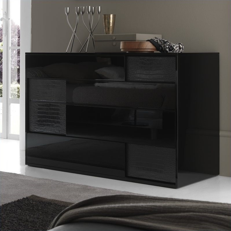 Rossetto Nightfly Dresser in Black