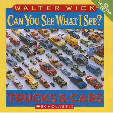 Can You See What I See Trucks and Cars (Board Book) ()