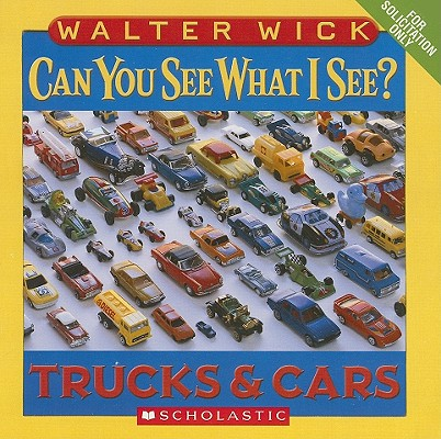 Can You See What I See Trucks and Cars (Board Book)