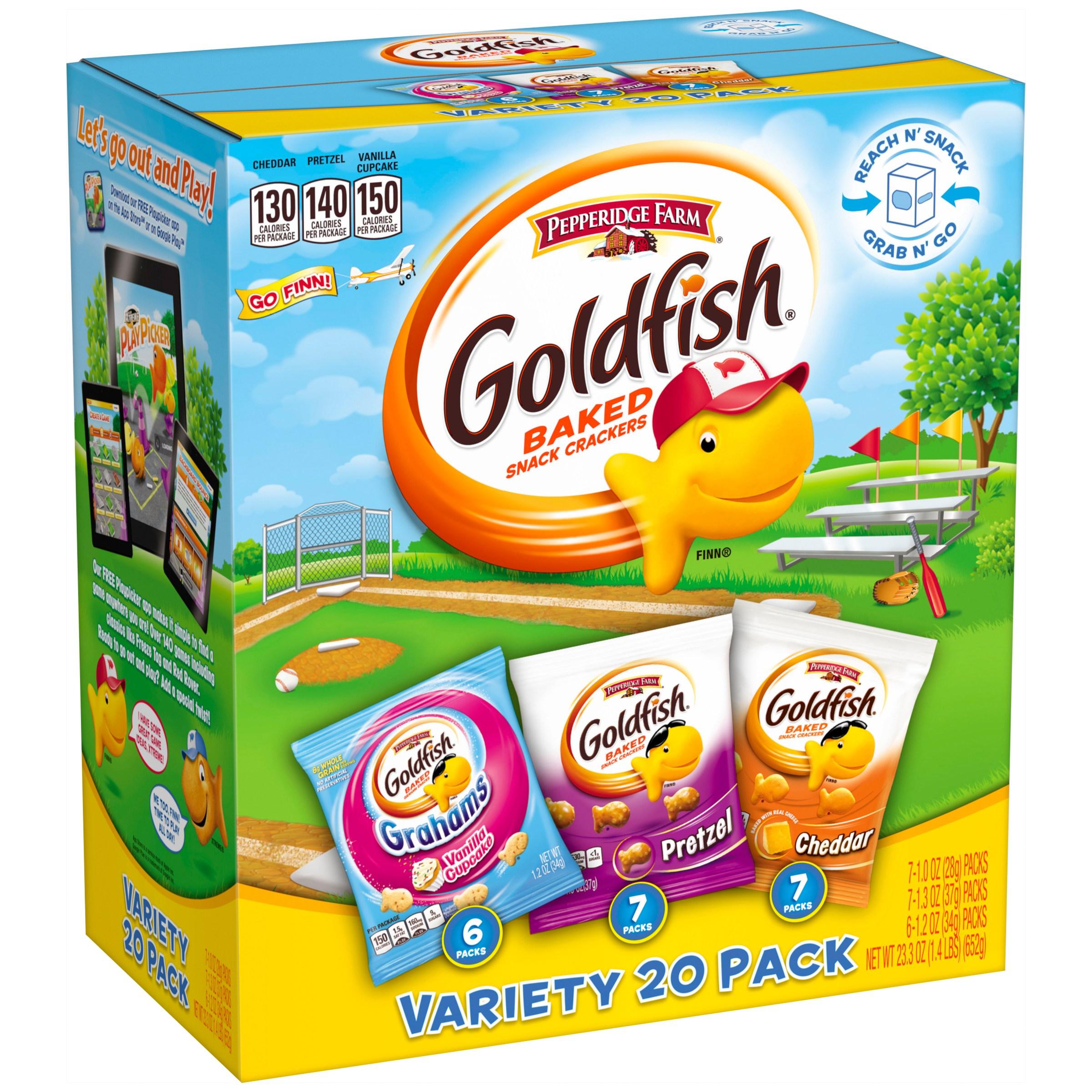 Pepperidge Farm® Goldfish® Variety Pack 20 ct Box