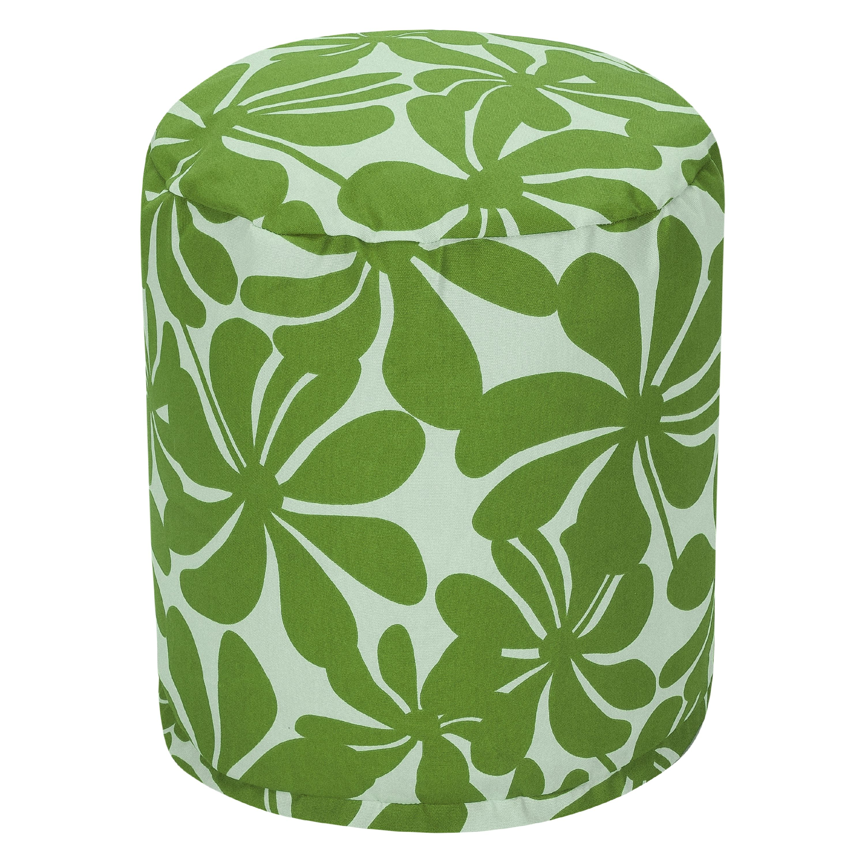 Majestic Home Goods Plantation Indoor Outdoor Ottoman Pouf