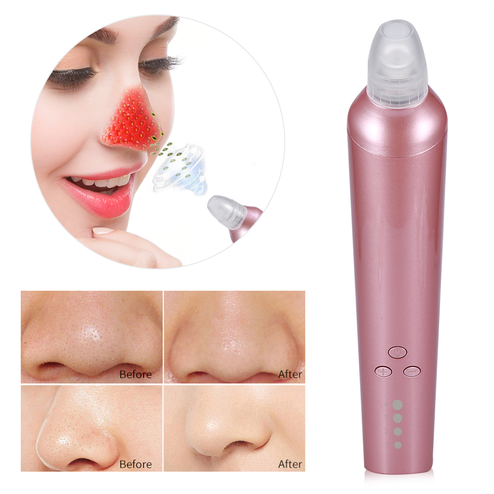 Dilwe Electric Facial Pore Cleanser Face Blackhead Acne Removal Skin Cleaner Pore Skin Care LED Suction Device