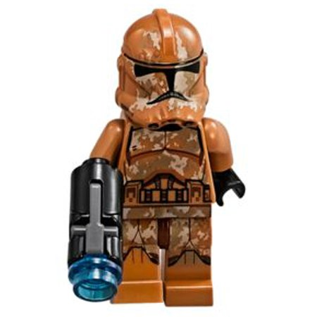 LEGO Star Wars Attack of the Clones Geonosis Clone Trooper (Custom Lego Star Wars Clone Trooper Minifigures)