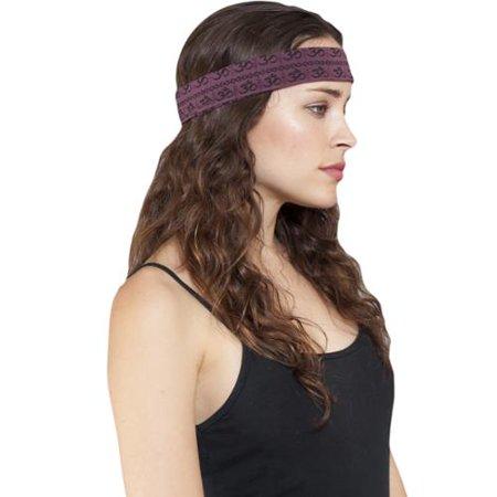 2f7dd3b1fe67 Lakhays Handmade Women s Om Mantra Organic Cotton Yoga Headband ...