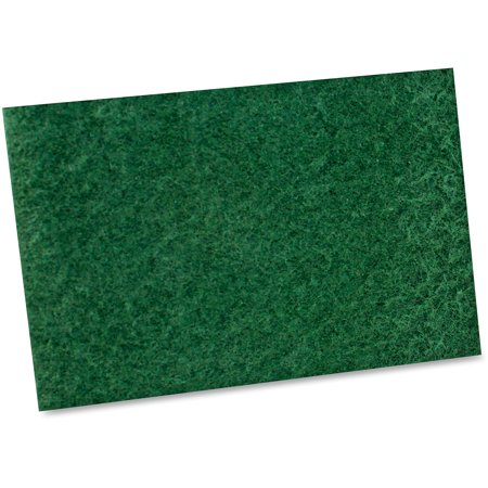 Impact Products, IMP7135B, General Purpose Scouring Pad, 10 / Bag, Green