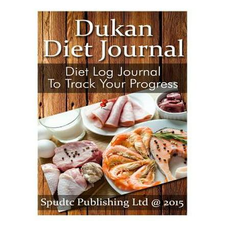 Dukan Diet Journal: Diet Log Journal to Track Your Progress