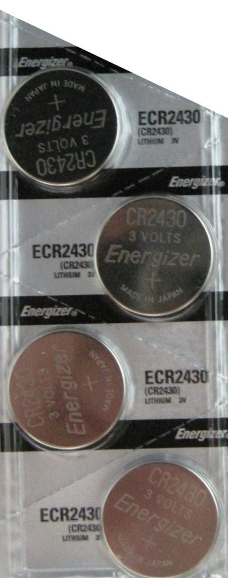 4 Pack CR2430 Lithium Coin Button Cell battery, Ship from USA,Brand Energizer by