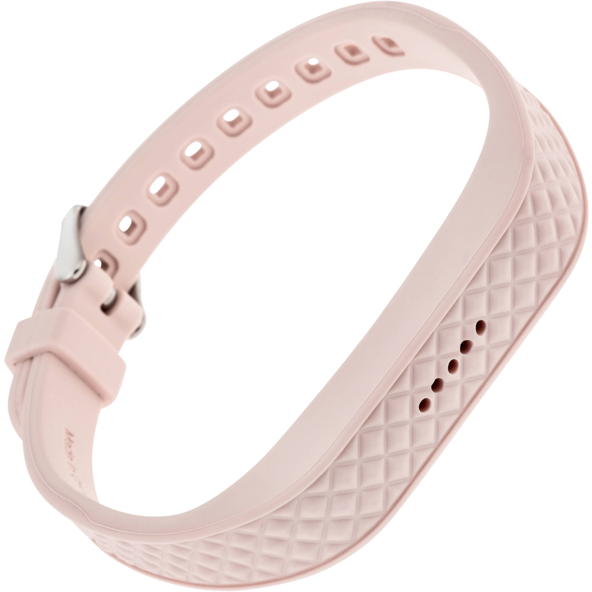 Blackweb Replacement Band with Steel Buckle for Fitbit Flex 2, Pink by