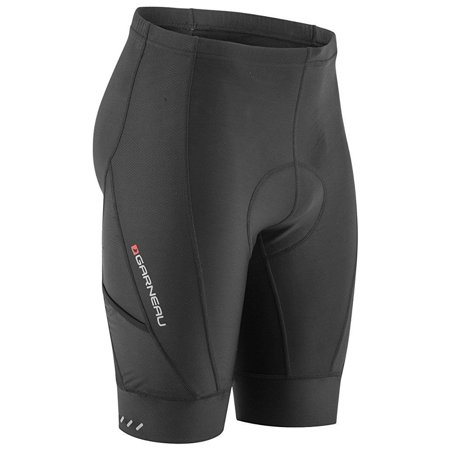 Louis Garneau Men's Optimum Bike Shorts, Black, Medium