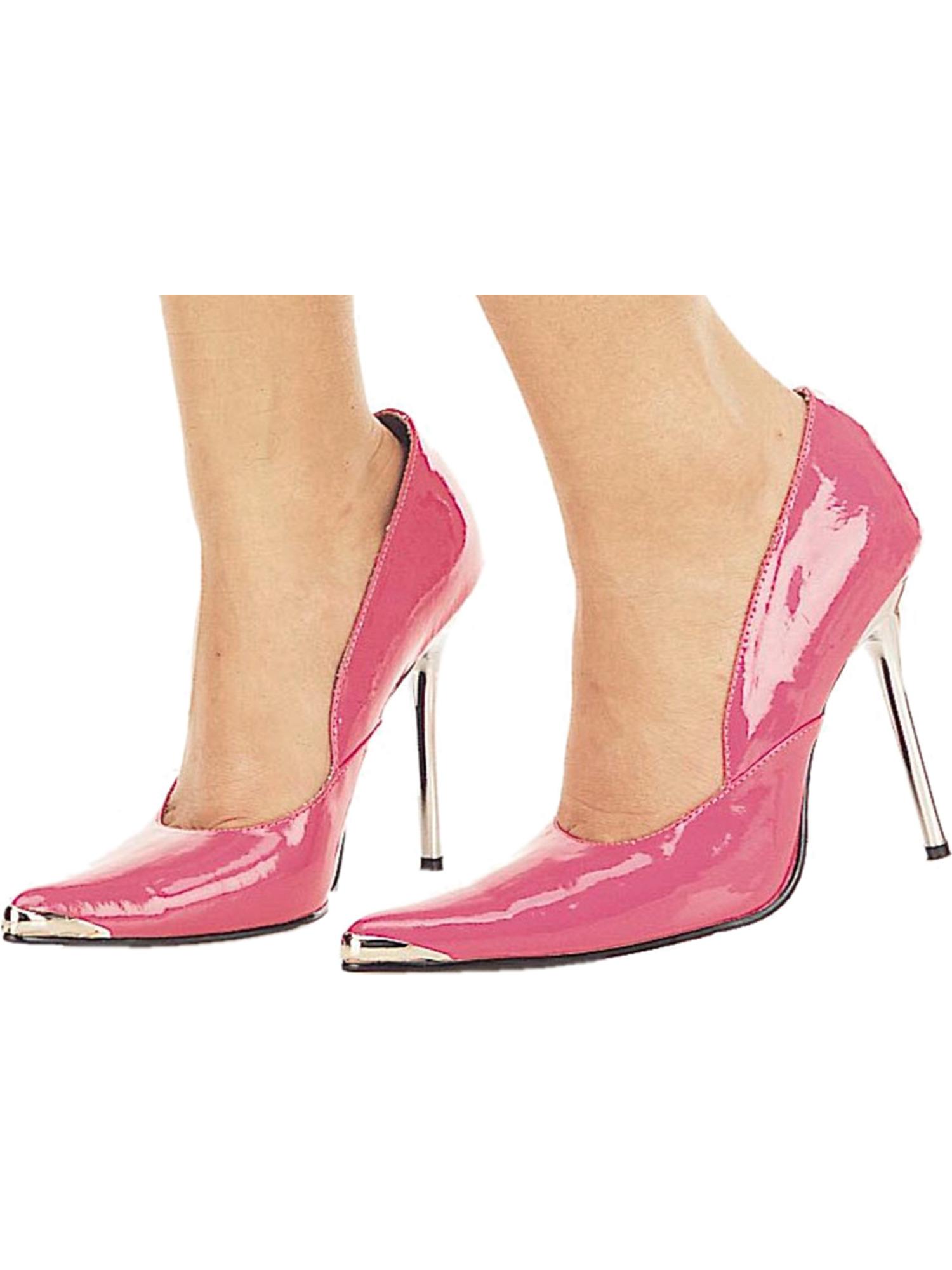 Womens Pink Pumps 4 1/2 Inch Heels