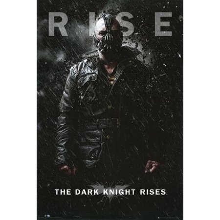Dark Knight Rises Poster Villain - Batman New 24x36 (Dark Knight Rises Poster)