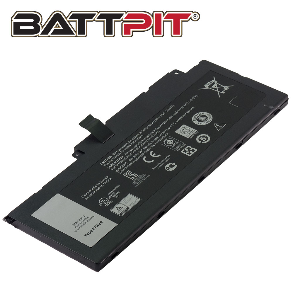 BattPit: Laptop Battery Replacement for Dell Inspiron 17 7746 451-BBEO 62VNH F7HVR G4YJM T2T3J Y1FGD