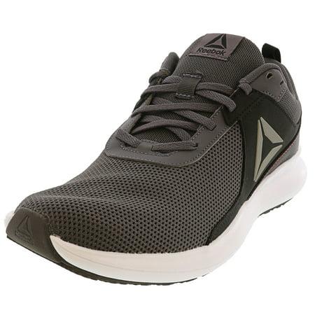 Reebok Men's Driftium Grey / Black Red Pewter White Ankle-High Mesh Running - 8.5M
