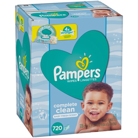 Pampers Stages Sensitive Baby Wipes 192ct Brickseek