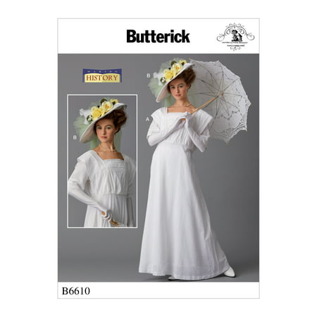 Butterick Pattern Misses' Costume and Hat-14-16-18-20-22 - Buttericks Halloween