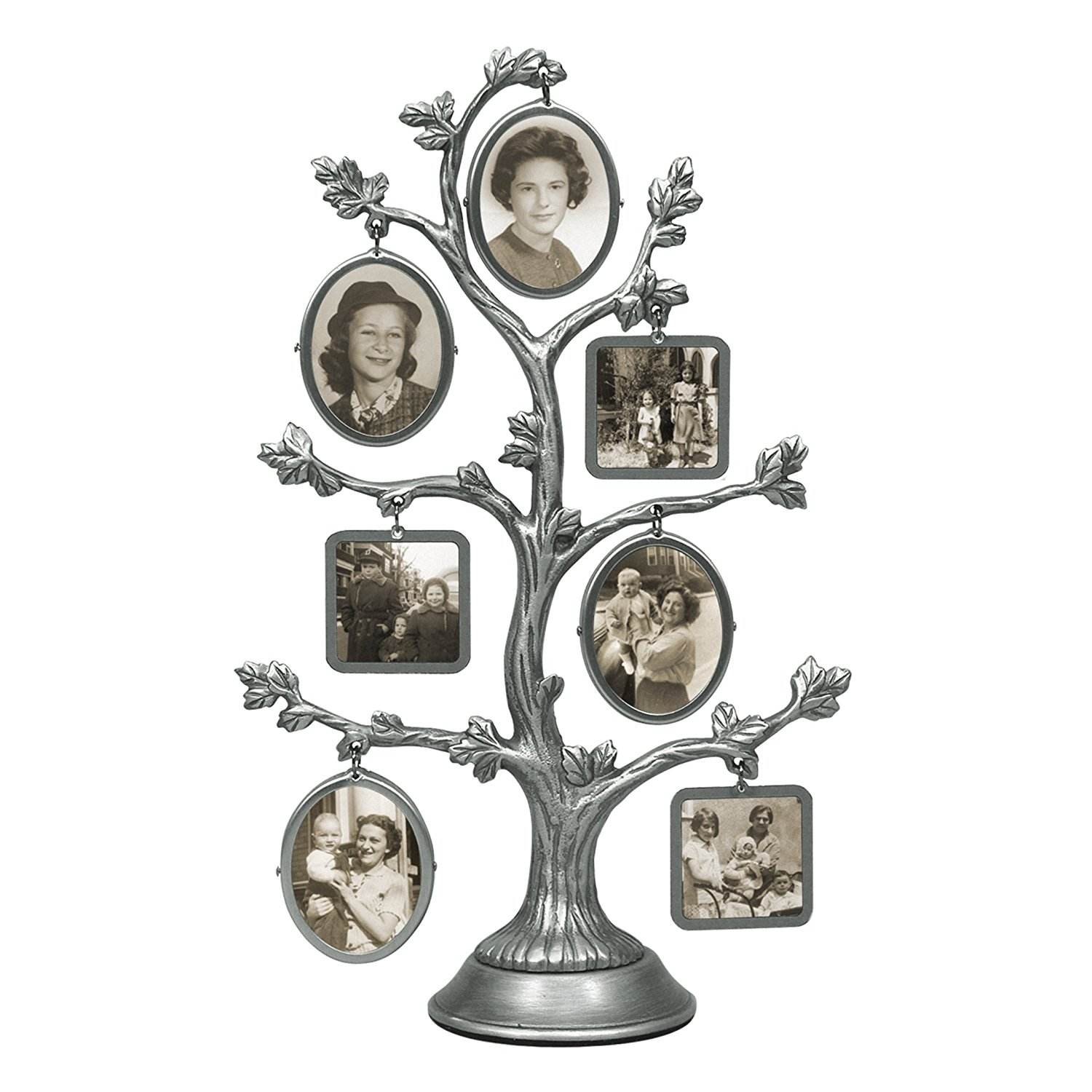 Malden International Designs Family Tree Fashion Metal Picture Frame ...