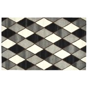 Rizzy Home SK251A Gray 5' x 8' Hand-Tufted Area Rug