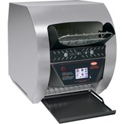 """Hatco TQ3-500H Toast-Qwik Stainless Steel Conveyor Toaster with 3"""" Opening and Digital Controls - 208V, 2220W"""