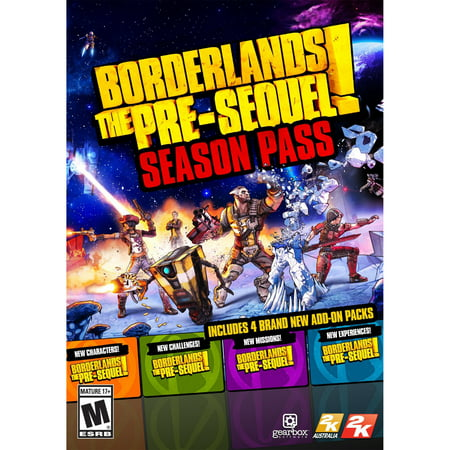 Borderlands: The Pre-Sequel Season Pass (PC)(Digital