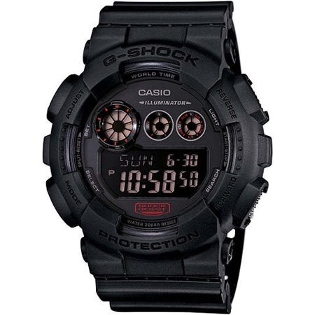 Casio G Shock Military Black Gd120mb 1 X Large Digital Super Wristwatch
