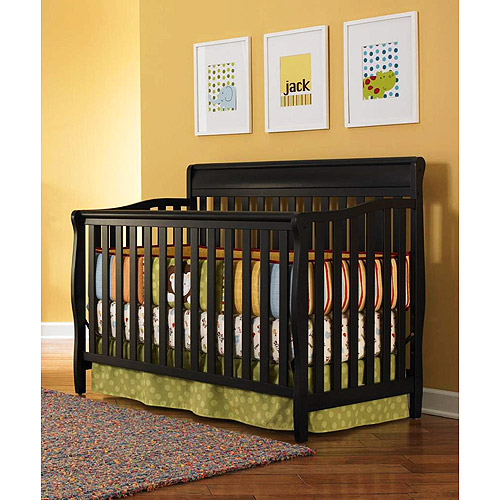 Graco Stanton 4-in-1 Convertible Crib Black