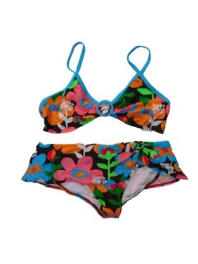 7c8931d6db Product Image OP Girls 2 PC Floral Bikini Swimming Swim Suit Skirtini Bathing  Suit XL 14 16