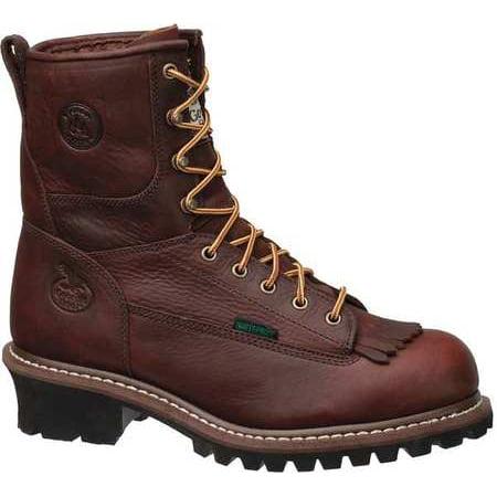 Georgia Boot Size 15 Steel Toe Work Boots, Men's, Brown, W, G7313 ...