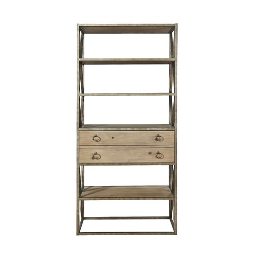 Gracie Oaks Wellison Etagere Bookcase by
