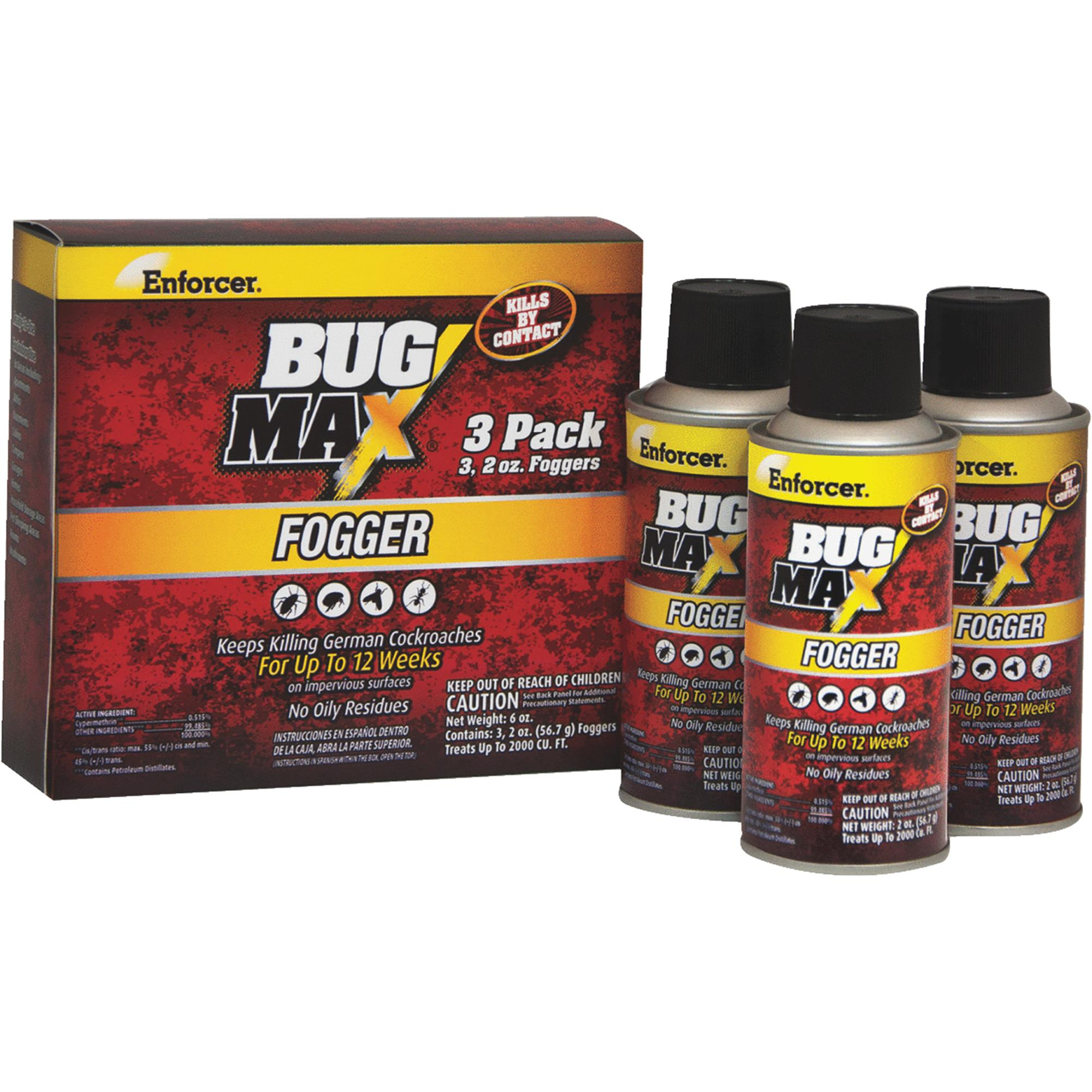 Enforcer Bug Max Indoor Insect Fogger