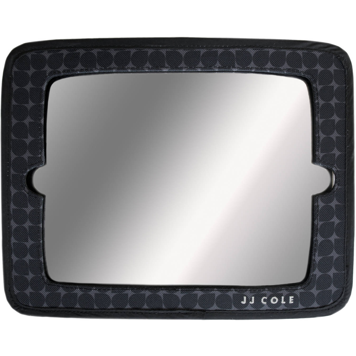 JJ Cole 2-in-1 Mirror, Silver Drop