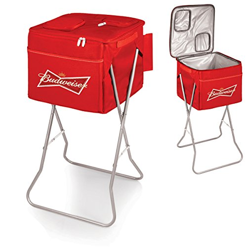 Picnic Time Budweiser Party Cube Insulated Portable Cooler