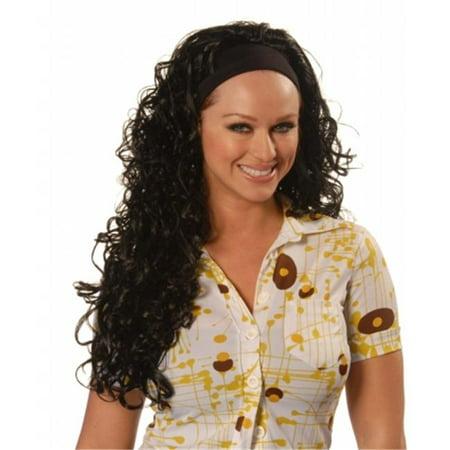 Wicked Wigs Spice Midnight Black Wig](Scary Spice Wig)
