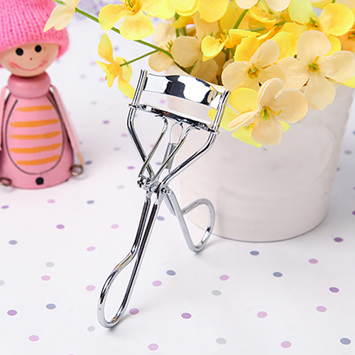 Directer Women Makeup Silicone Gasket Stainless Steel Eyelash Curler Cosmetic Beauty Tool